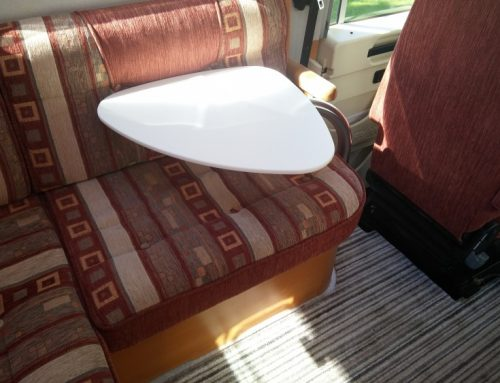 Changing the table in our motorhome