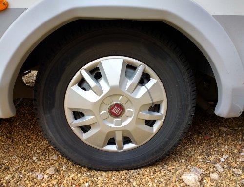 Motorhome Tyre pressure guide